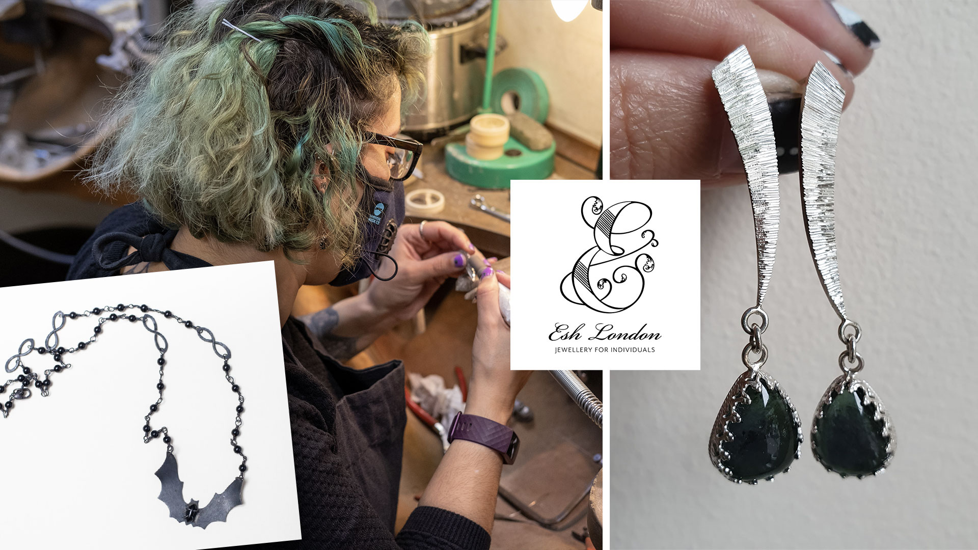 Self employment is how self-taught jeweller, Esh, is shaping her future