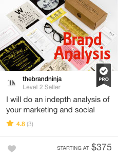 Fiverr Gig Analysis Of Your Marketing And Social Channels