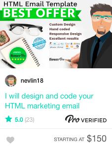 Email marketing gig