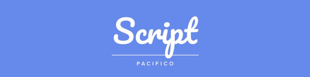 choosing logo font