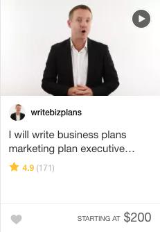 executive summary Fiverr Gig