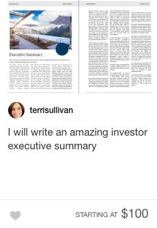 fiverr executive summary