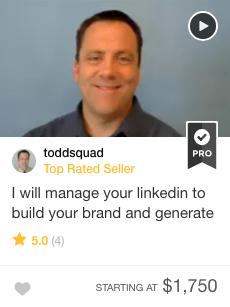 Fiverr Pro Linkedin expert