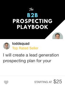 Fiverr pro Lead generation specialists