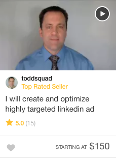 Fiverr Ro Linkedin marketing specialist