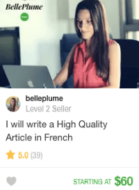 content writer on fiverr