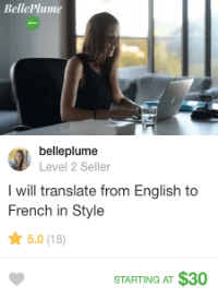 english to french translator on fiverr