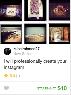 instagram set up account service