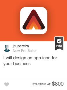 app icon design gig on fiverr