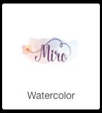 watercolor logo fiverr
