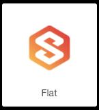 flat logo fiverr