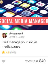 social media gig