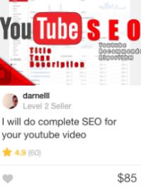 video seo Gig