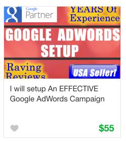 Fiverr AdWords Gig