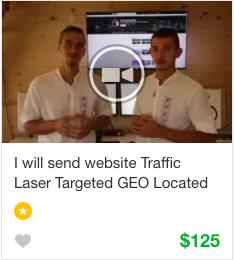 Fiverr Website Traffic Gig