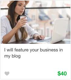 Fiverr Influencer Marketing Gigs