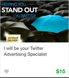 Fiverr Social Media Advertising Gig