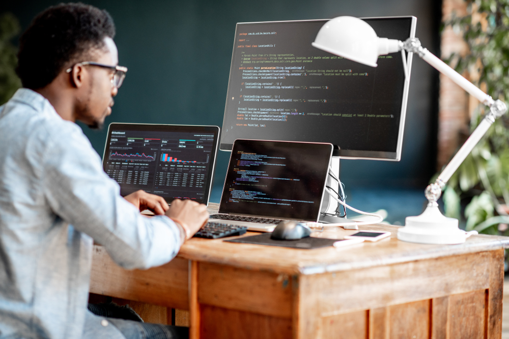 freelancer learning a new programming language