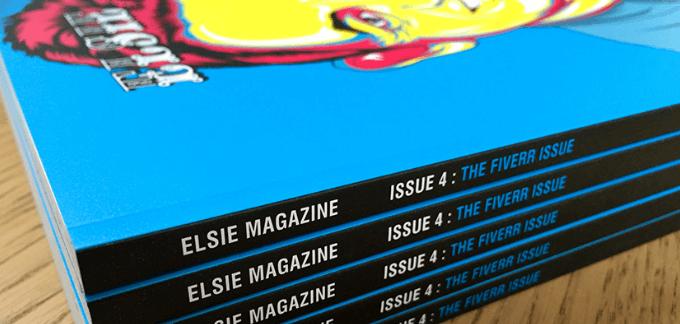 Elsie Magazine - Fiverr Issue||Lee Jones, Fiverr||Fiverr interview to Lee Jones