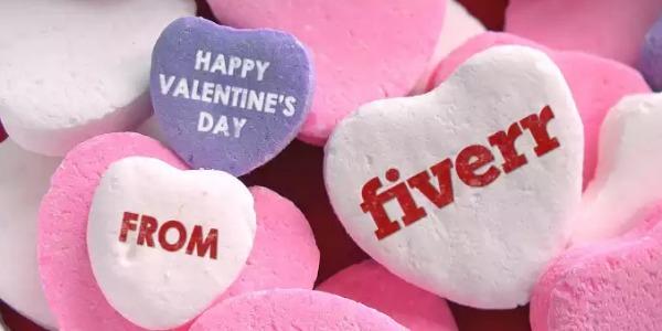 valentines gifts fiverr