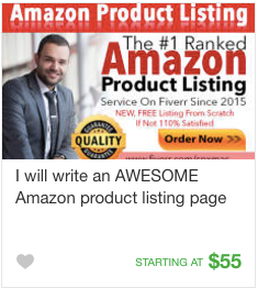 Website content copywriting gig service on Fiverr
