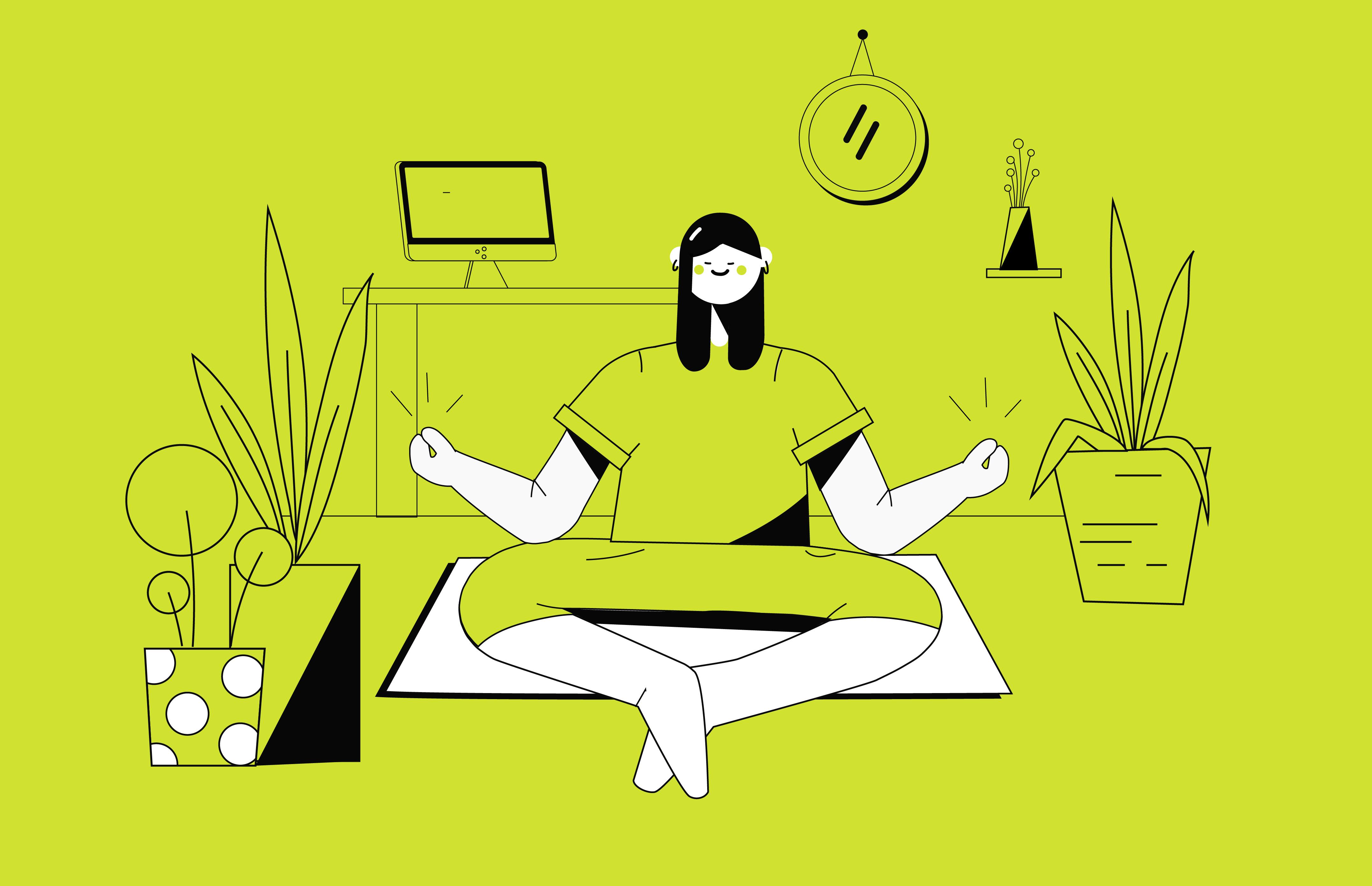 Yoga und Mediation