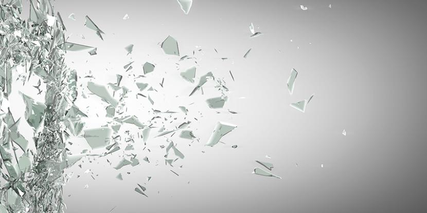 3M Window Film can protect your floors from broken glass