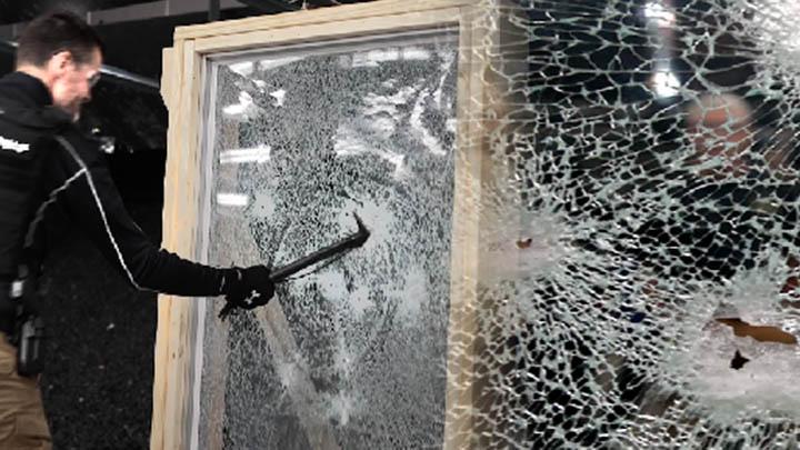 Security Window Film demonstration in Orlando, Florida