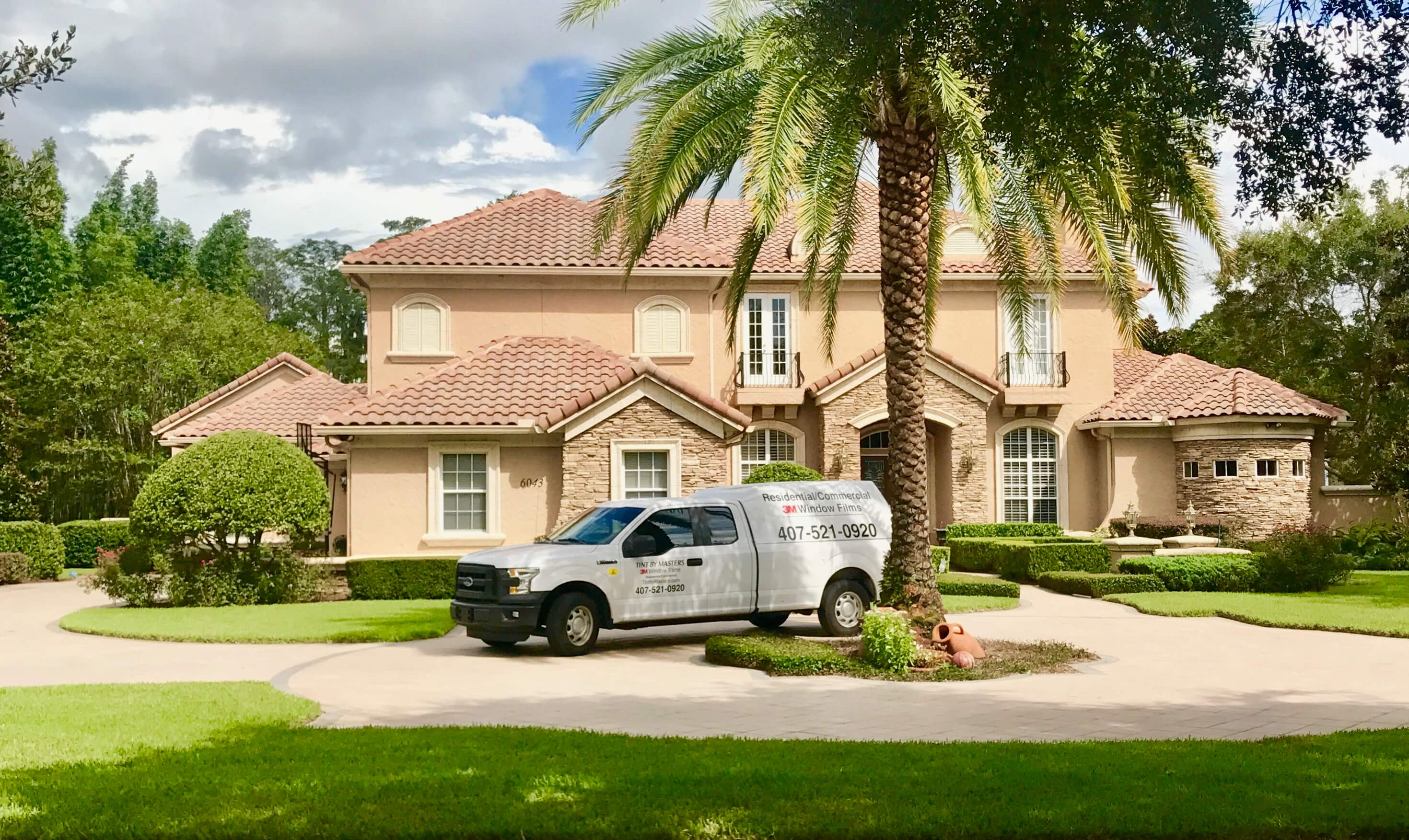 Tint By Masters Residential Window Film Installation Services in Orlando Florida