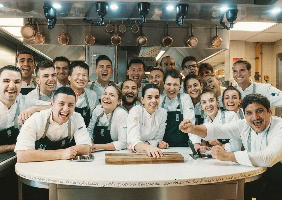 Chefs from Mirazur