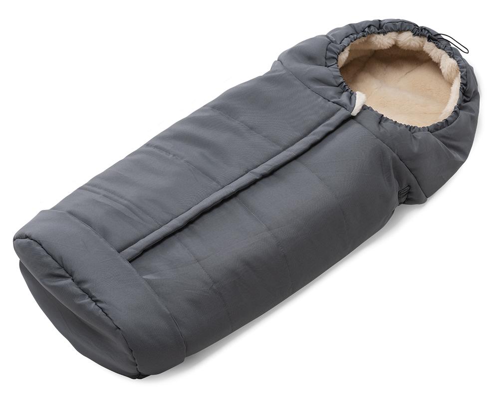 Sacco universale per passeggino in pura lana naturale - Junior Wooly 9775