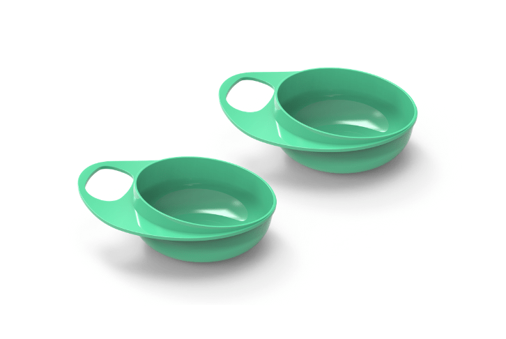 Set of 2 weaning bowls - EasyEating 8431