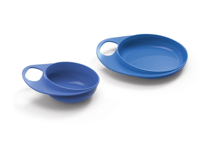 Weaning bowl and saucer set - EasyEating 8461