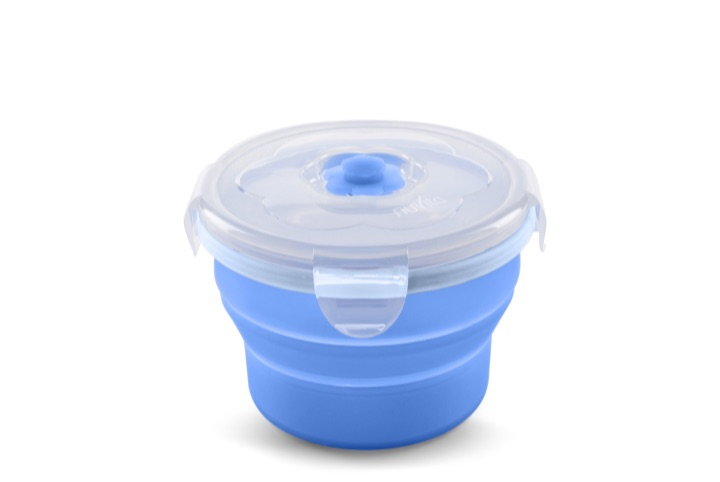 Collapsible silicone containers 230 ml - 4466