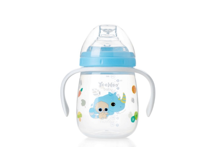 Learning cup with soft spout 6m+ - Yoohoo 55031