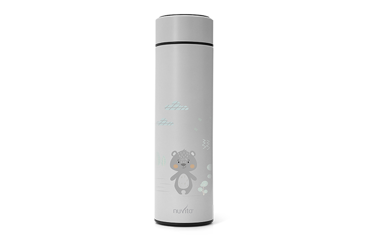 Thermal container 500ML with thermometer - 4455