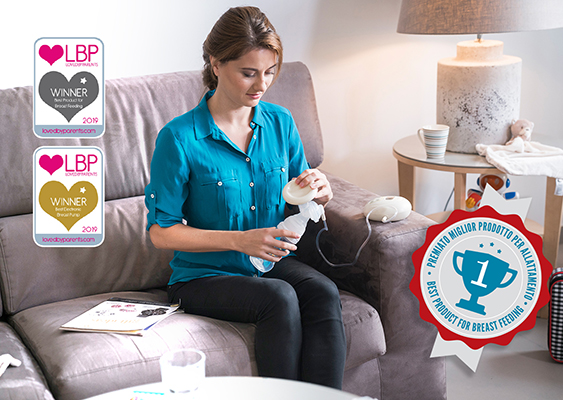 3 Phase Electric Breast Pump - Materno Life 1286M   Nuvita Offical ...