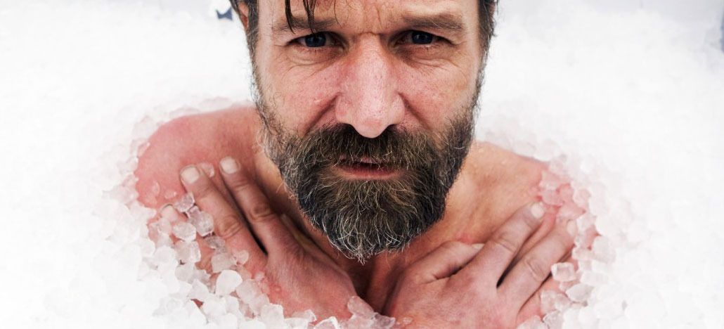 Wim Hof ice bathing