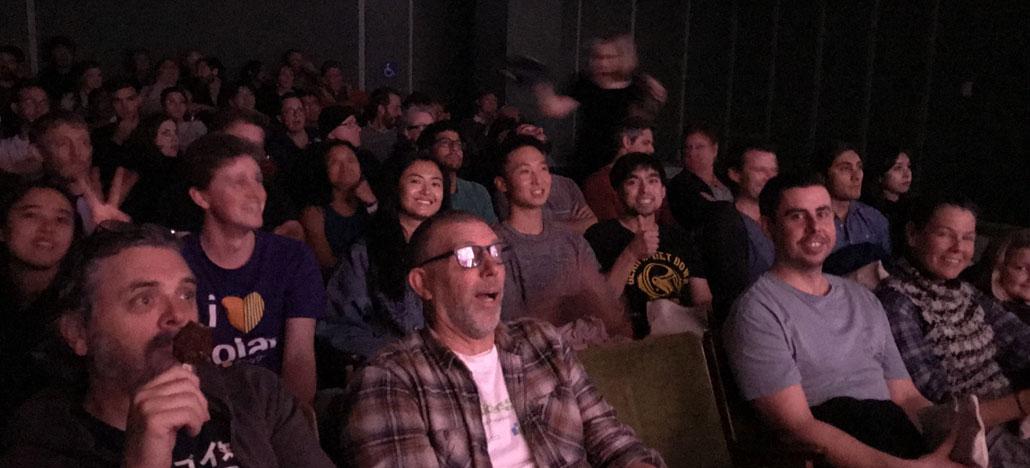 Solar Analytics team at the 2040 movie