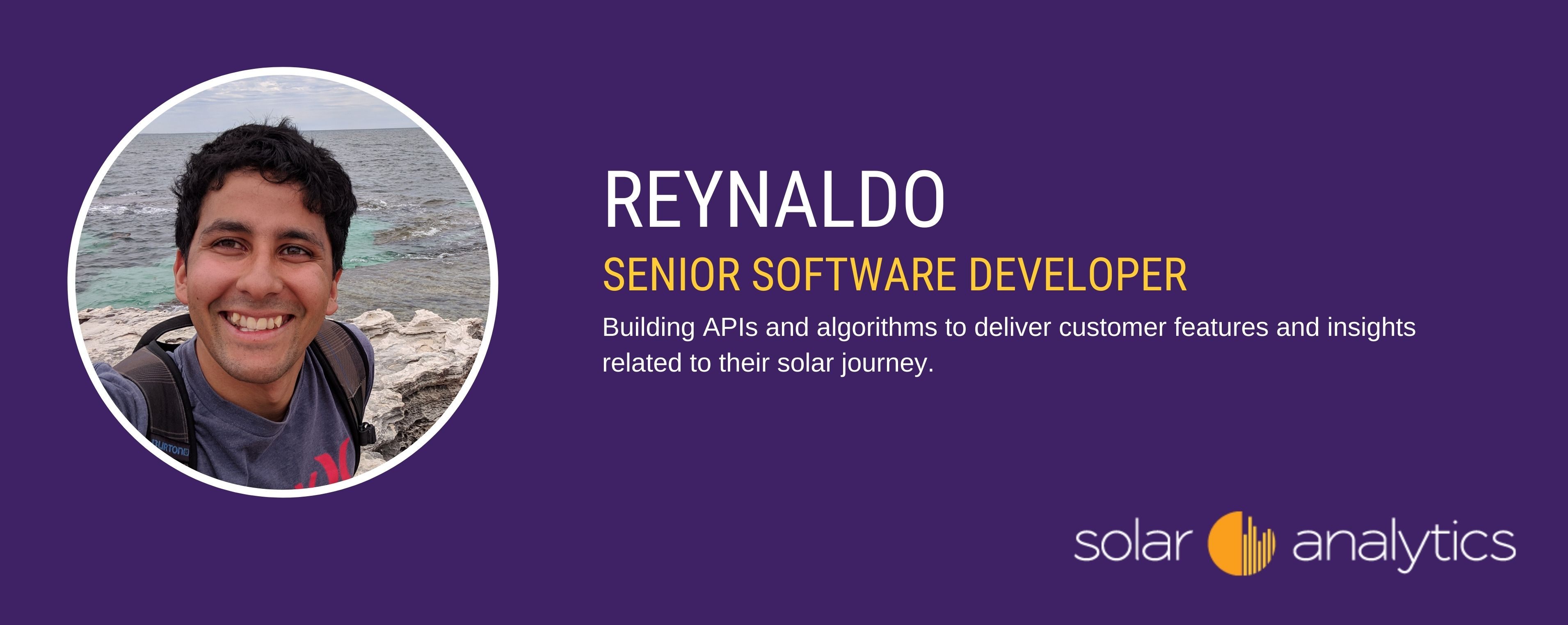 Working as a backend software developer at Solar Analytics
