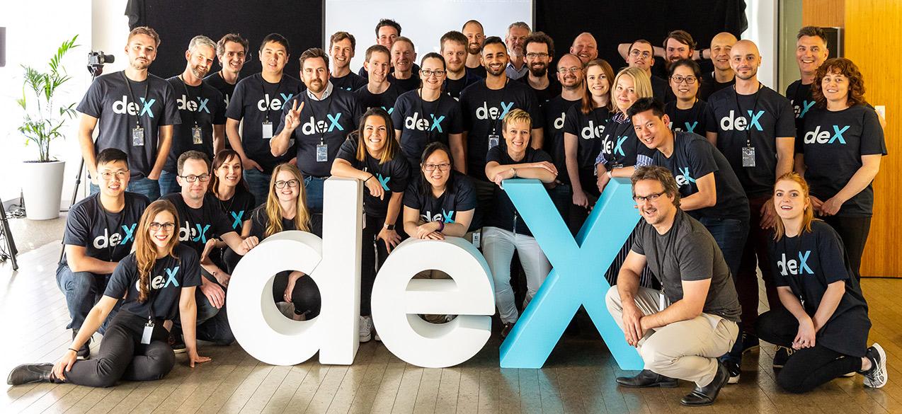 deX launch event Melbourne 2018