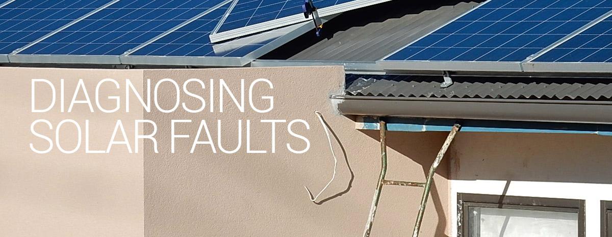 Solar fault diagnosis