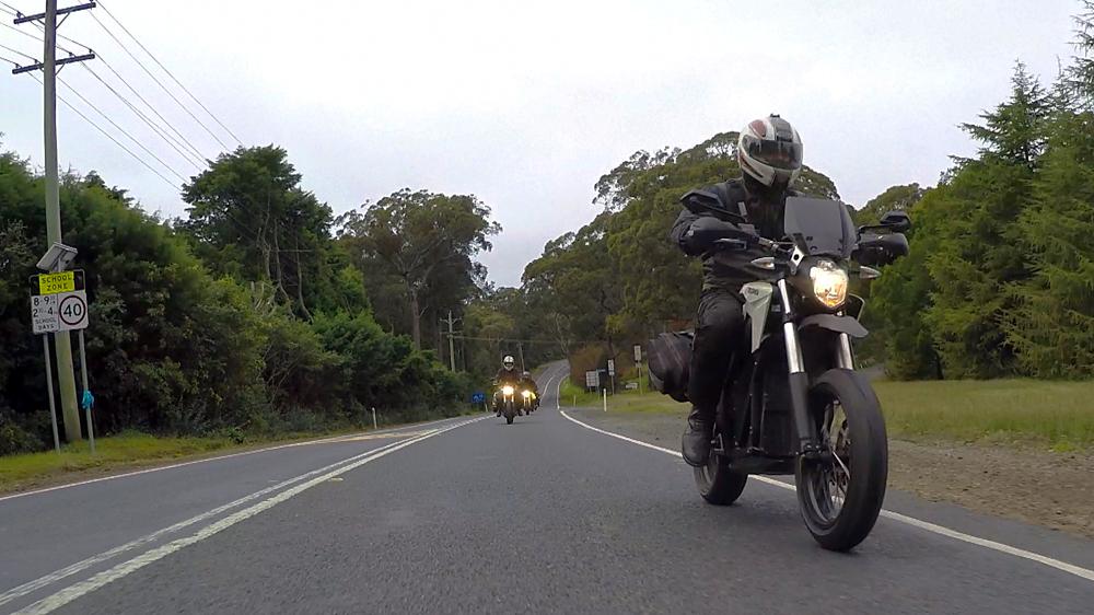 EV Sydney Electric Motorcycle club roadtrip