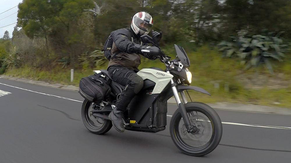 Zero EV Bike Nigel Morris