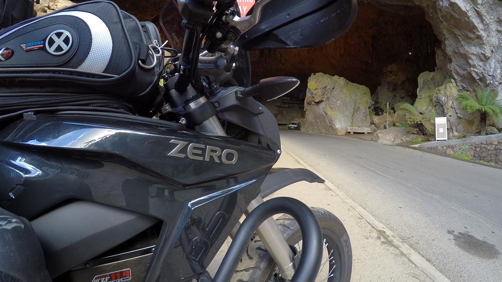 EV Zero Electric Motorbike Nigel Morris