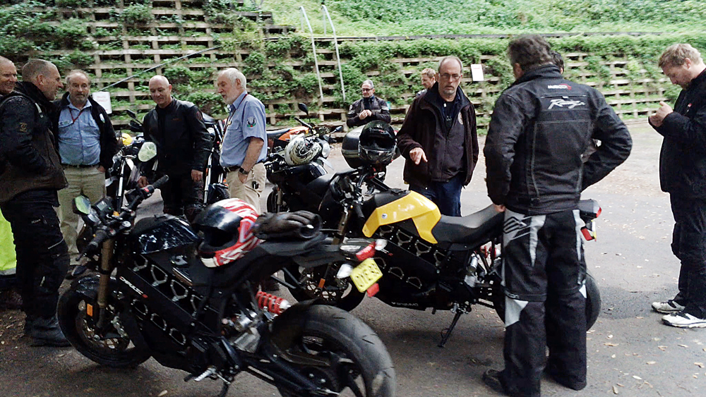 EV Sydney Electric Motorcycle club Jenolan Cave