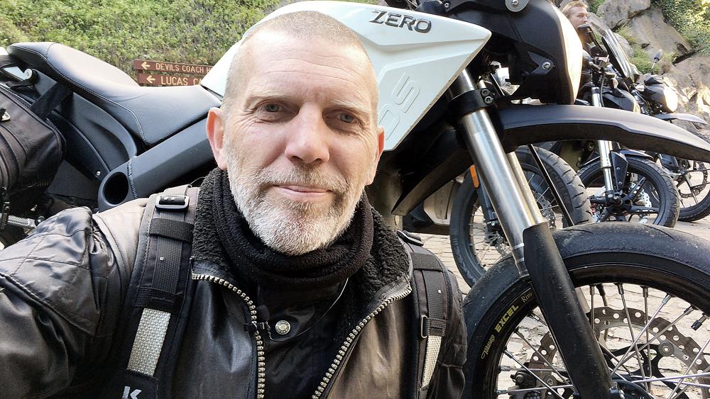 EV Sydney Electric Motorcycle club charging Nigel Morris