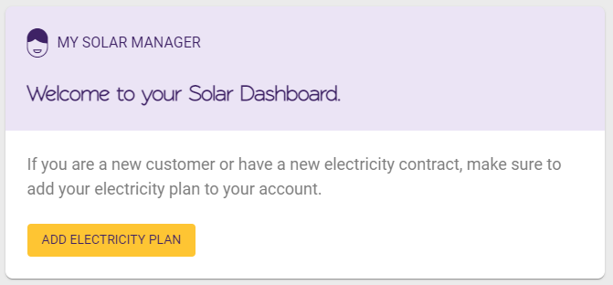 My Solar Manager provides tips to help you manage your solar