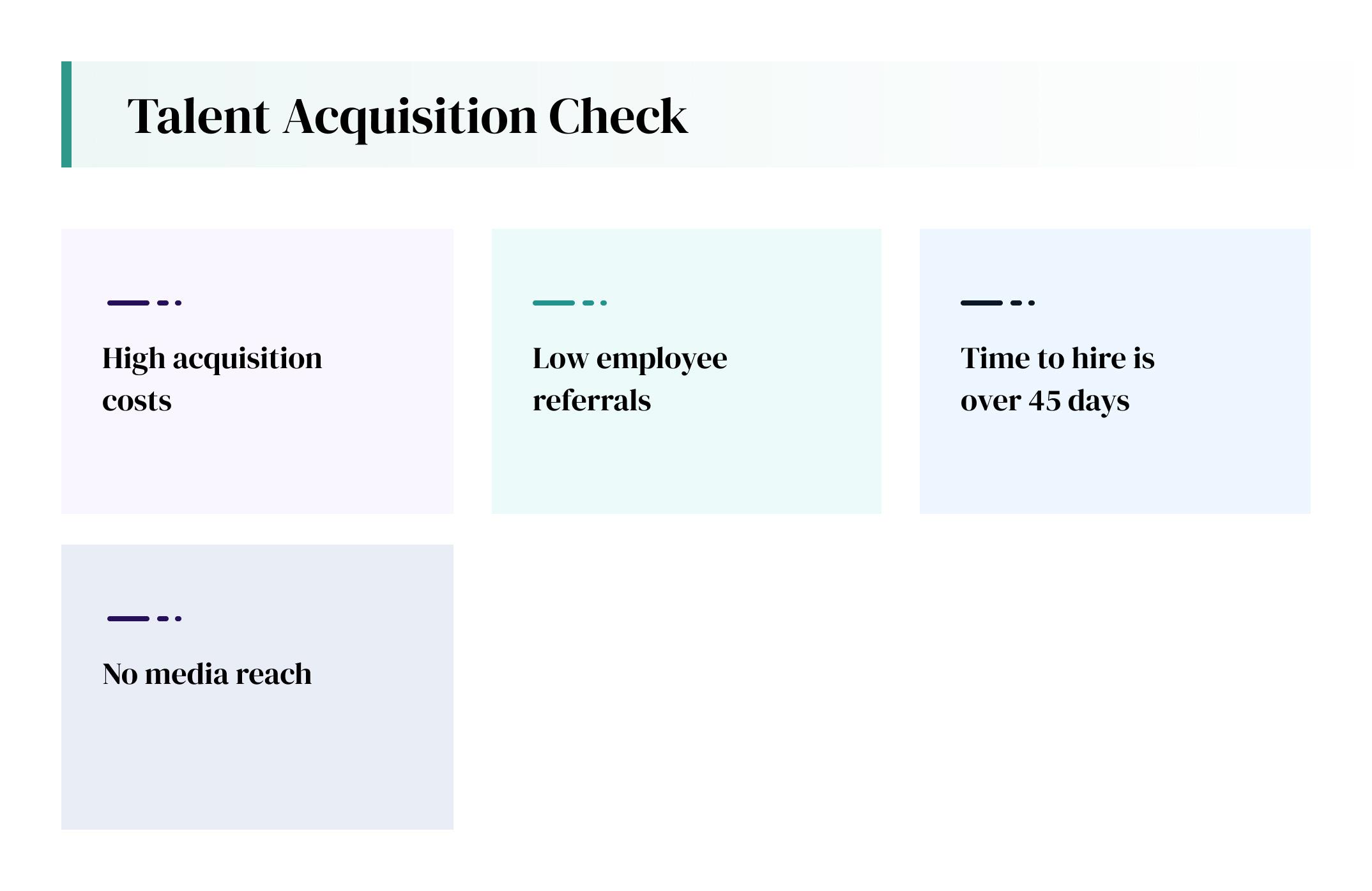 talent acquistion check
