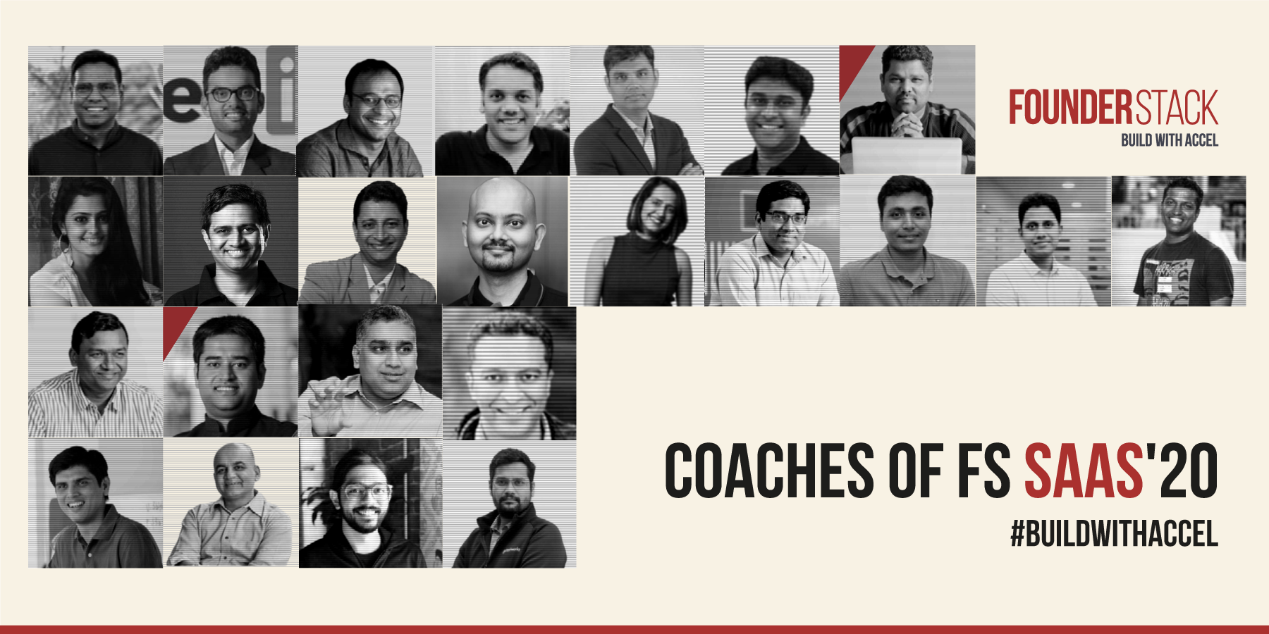 Founder Stack SaaS '20 Cohort by Accel